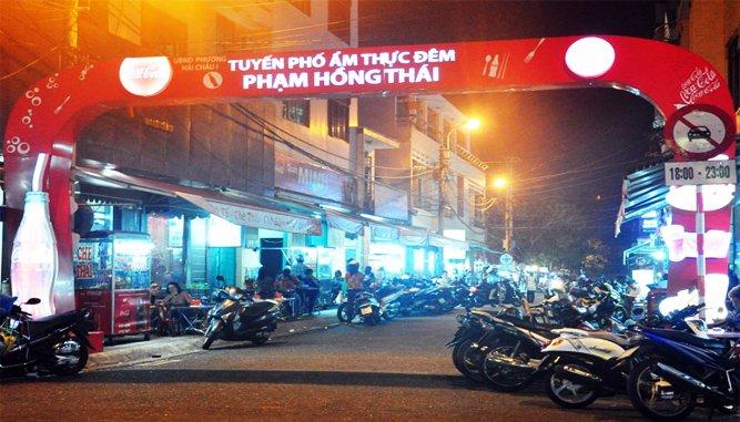 Tuyến phố ẩm thực đêm Phạm Hồng Thái