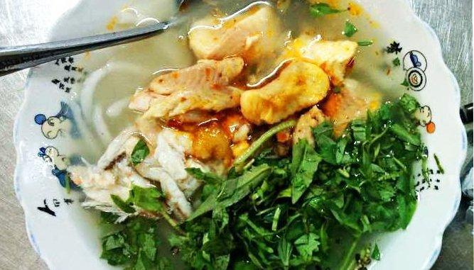Bánh canh cá lóc Thanh hương- Quán ngon Bánh canh ngon tại Đà Nẵng.