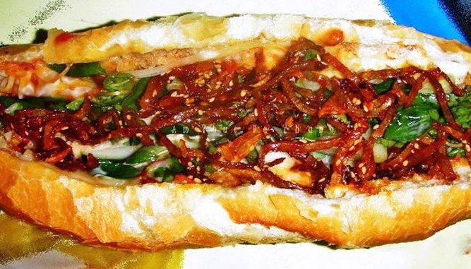 Bánh mì Đà Nẵng.