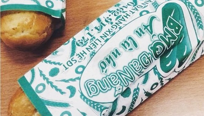 Bánh mì Đà Nẵng hấp dẫn thực khách.
