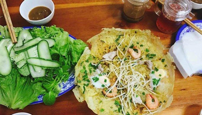 Quán Bánh xèo ngon tai Đà Nẵng nổi tiếng