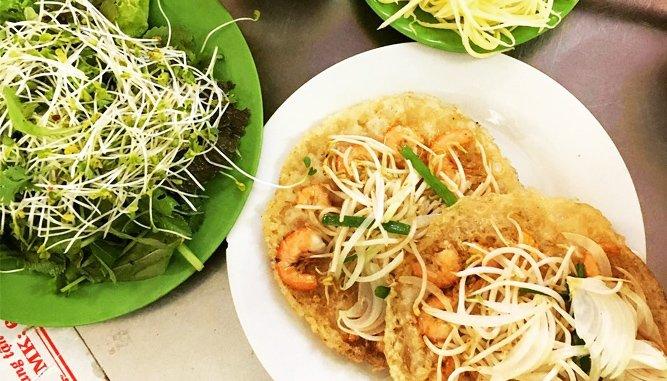 Quán Bánh xèo ngon tại Đà Nẵng nổi tiếng.