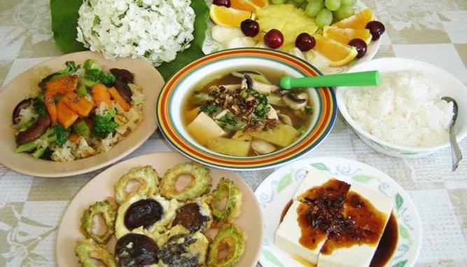 Các Quan chay ngon tại Đà Nẵng có nhiều món ăn.