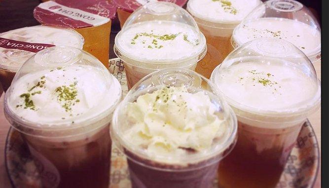 Trà sữa Gong Cha tại Đà Nẵng.