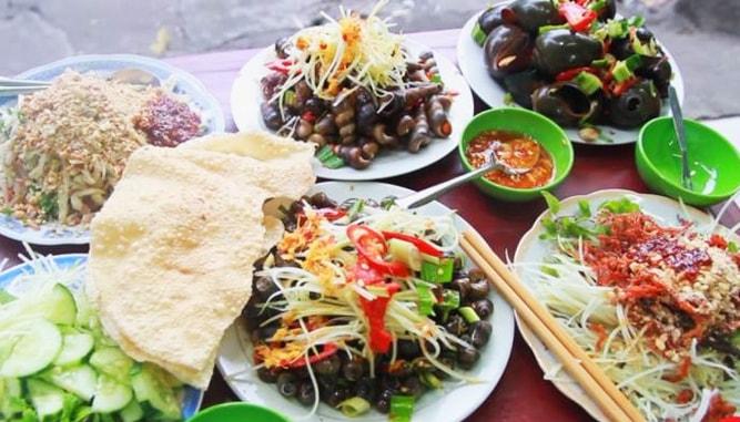 các quán ốc hút ngon ở Đà Nẵng