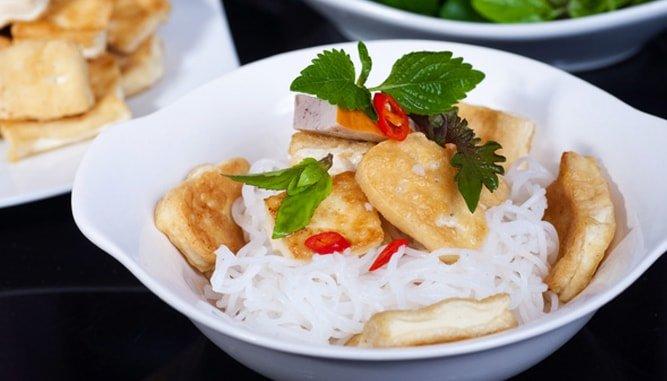 Bún đậu mắm tôm ở Đà Nẵng
