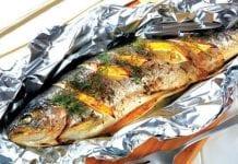 Cá Nục Nướng Giấy Bạc Ở Đà Nẵng