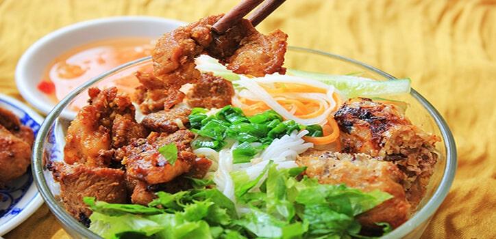 Quán Bún Thịt Nướng Ngon Ở Đà Nẵng
