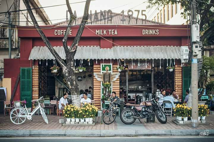 Quán cafe Đà Nẵng 1975