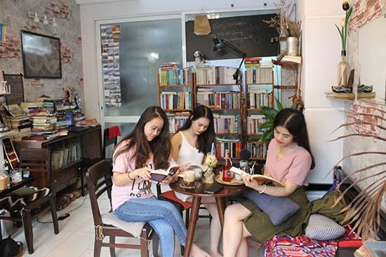 Một góc tĩnh của một quán Cafe cóc