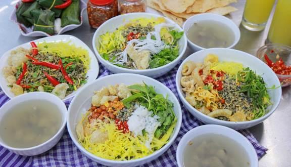 Quán cơm hến ở Đà Nẵng