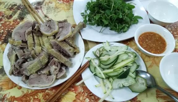 quán cháo vịt Đà Nẵng
