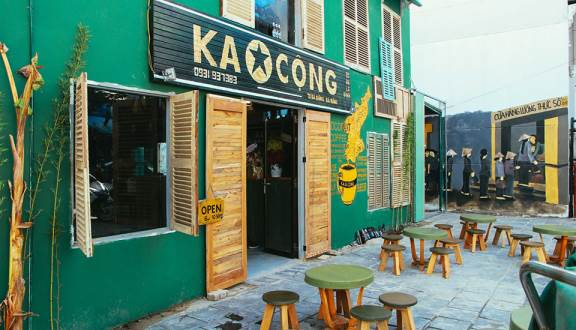quán cafe cổ Đà Nẵng