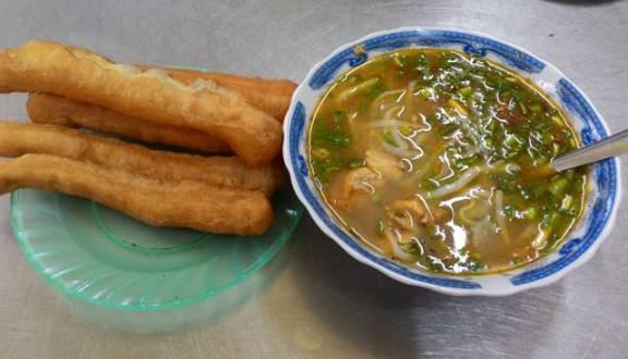 quán bánh canh cá lóc Đà Nẵng