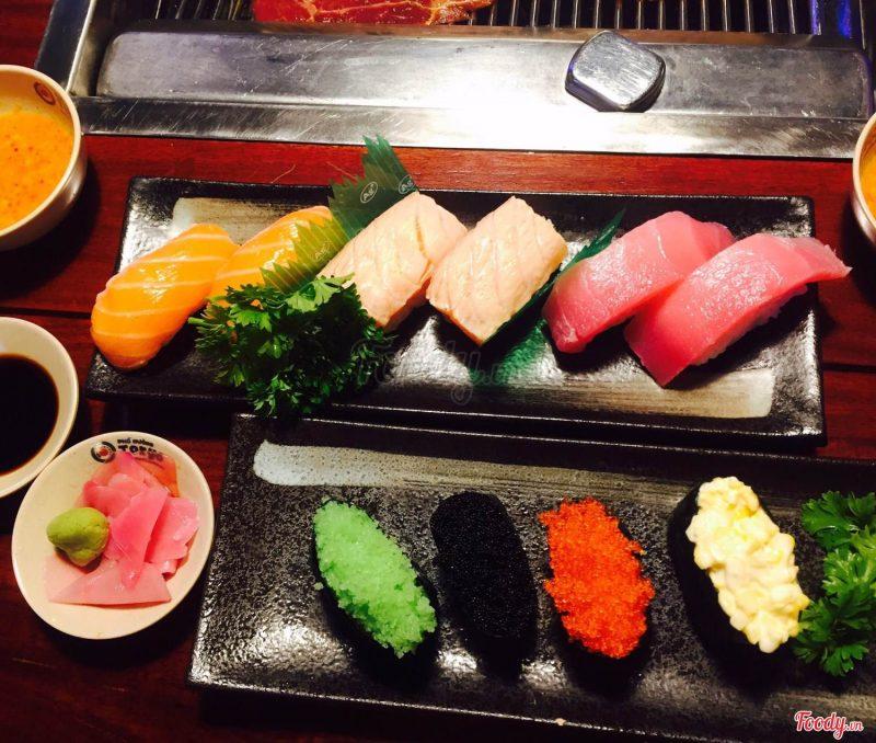 Những món ăn bắt mắt tại nhà hàng