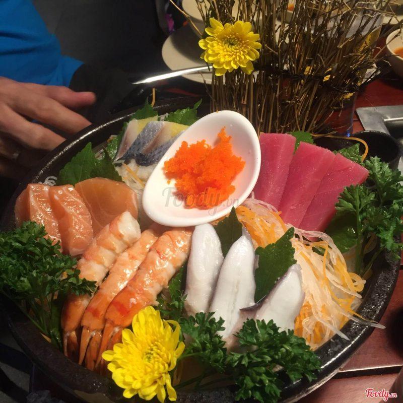 Món ăn được trang trí và chuẩn bị kĩ lưỡng đậm vị Nhật