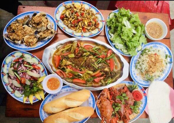 hải sản giá rẻ Đà Nẵng