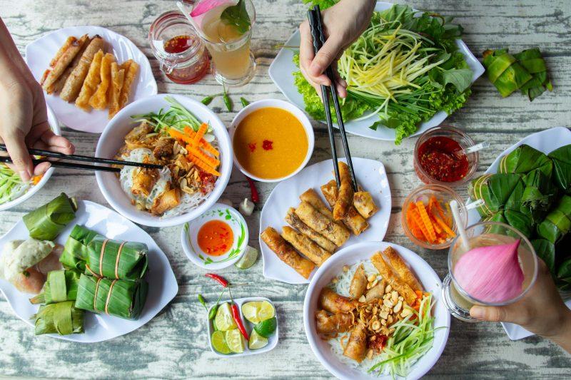Vô vàn món ăn đặc sắc tại quán