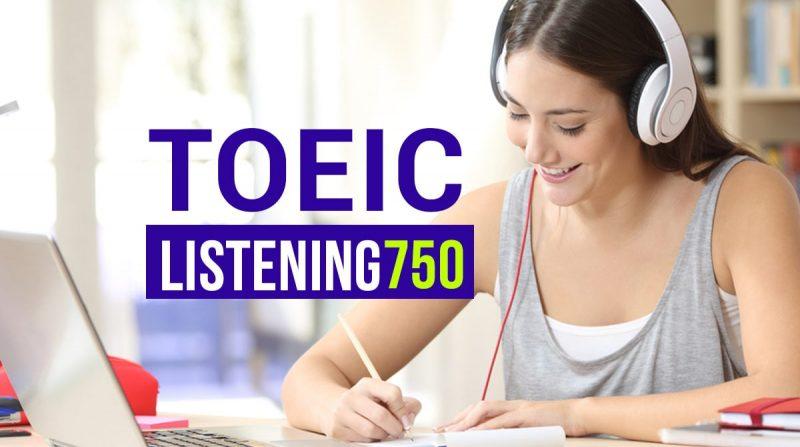 Học toeic listening 750