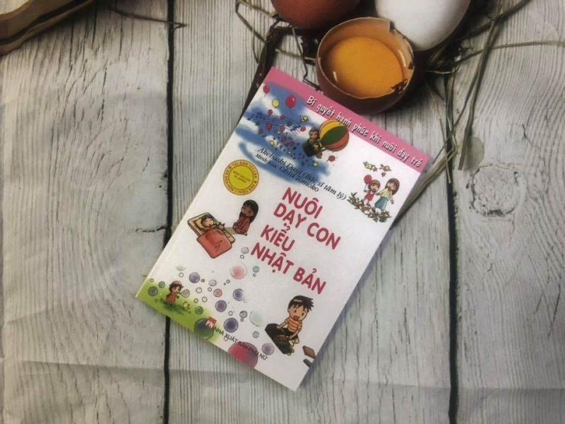 sách nuôi dạy con kiểu nhật