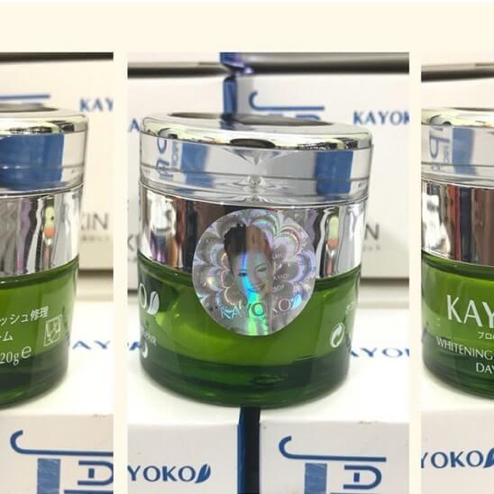 Kem Kayoko xanh