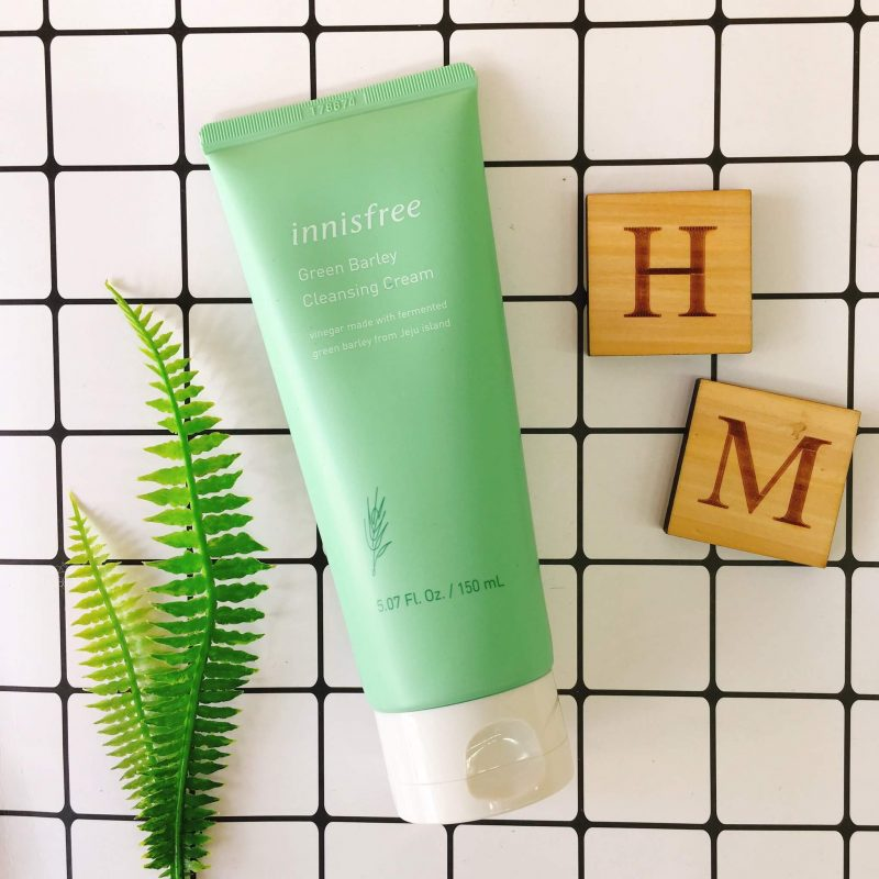 Innisfree Green Barley Cleansing Cream