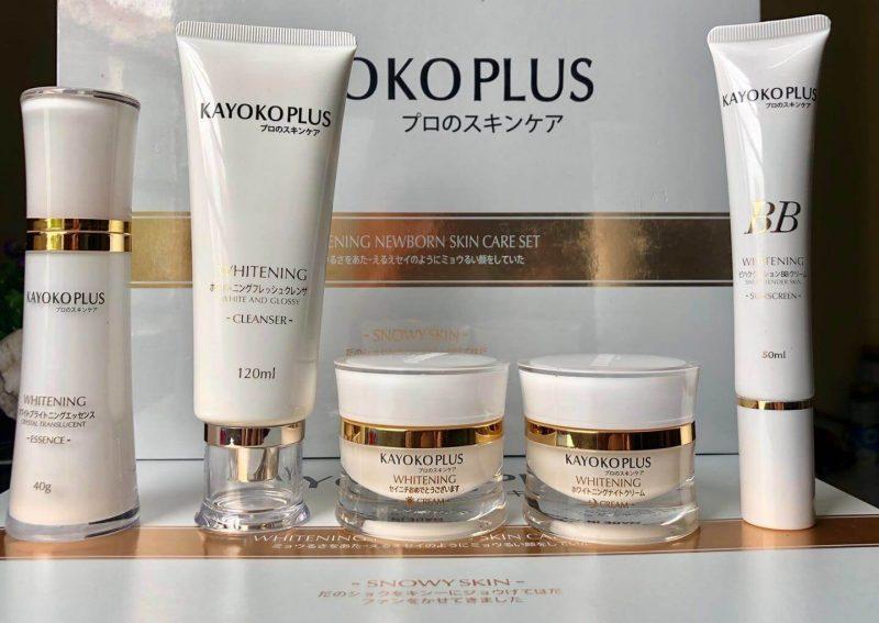 Kayoko trắng Plus ngày