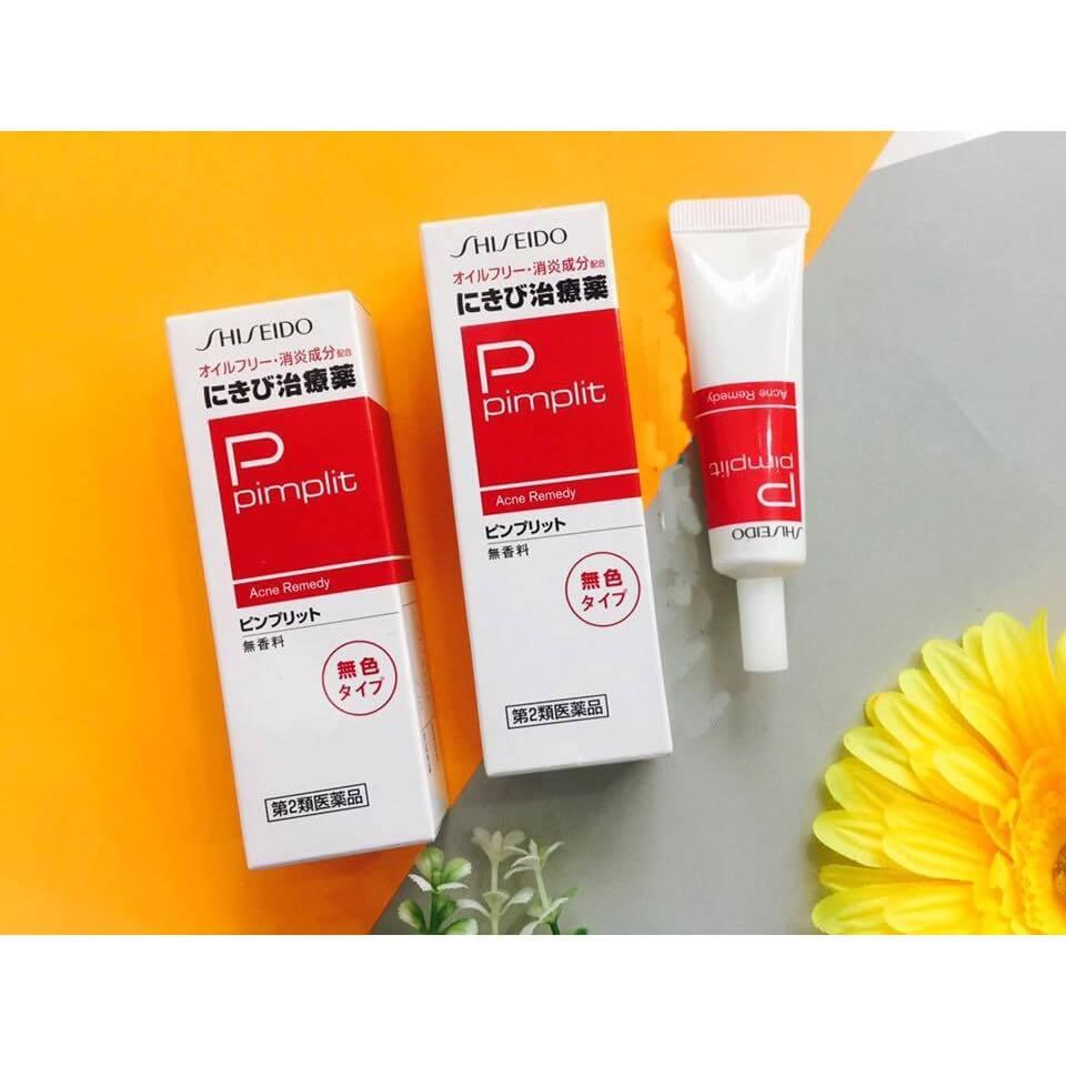 kem trị mụn mủ Shiseido