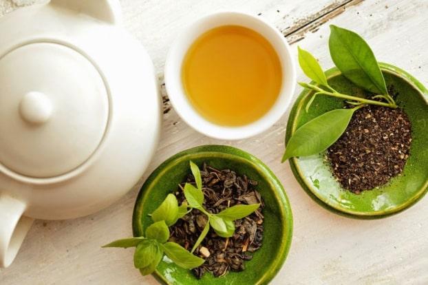 trà xanh Chính Sơn