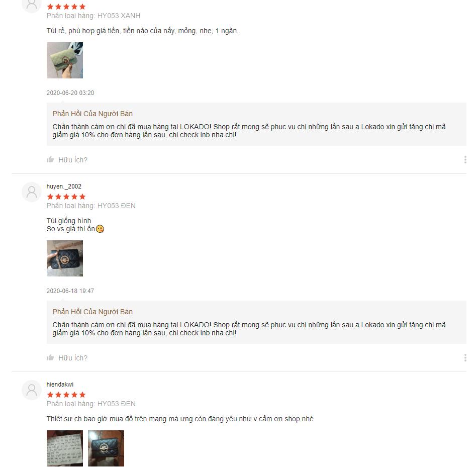 Phản hồi về sản phẩm