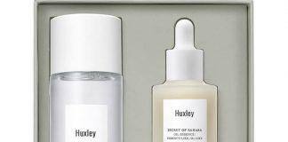 Set Dưỡng Ẩm, Phục Hồi Và Chống Lão Hóa Da Huxley Antioxidant Trio VàngNhạt