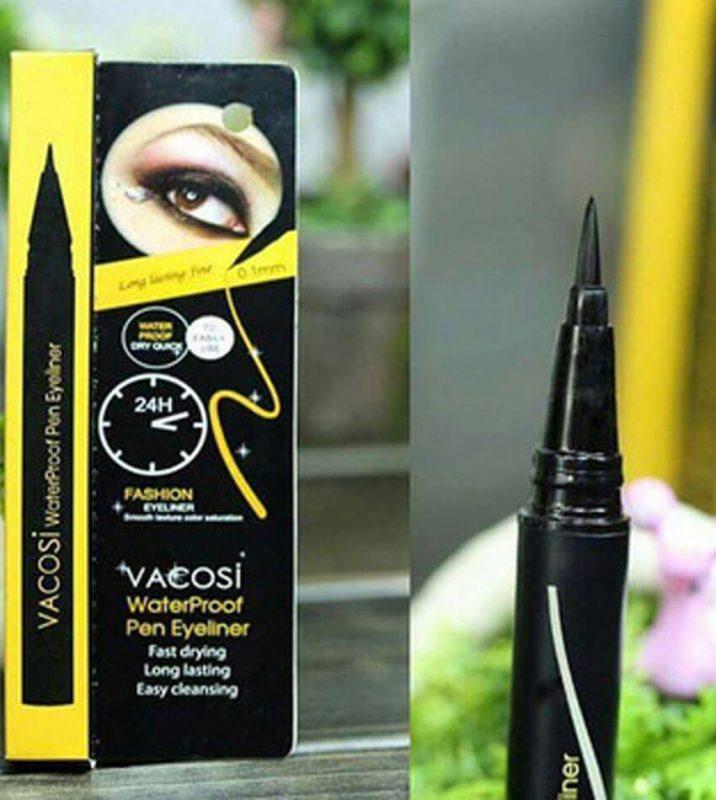 Kẻ Mắt Nước Không Trôi Vacosi Waterproof Pen Eyeliner
