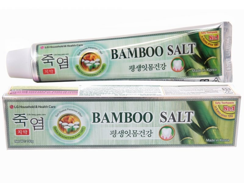 Bamboo Salt Korea