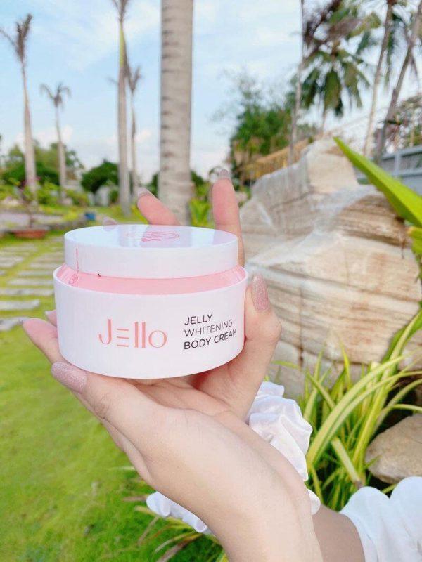 Kem Dưỡng Kích Trắng Mịn, Căng Mịn Da Body Ban Đêm Jello Body Whitening Cream UNBC