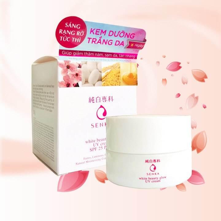 Senka White Beauty Glow UV Cream Spf25