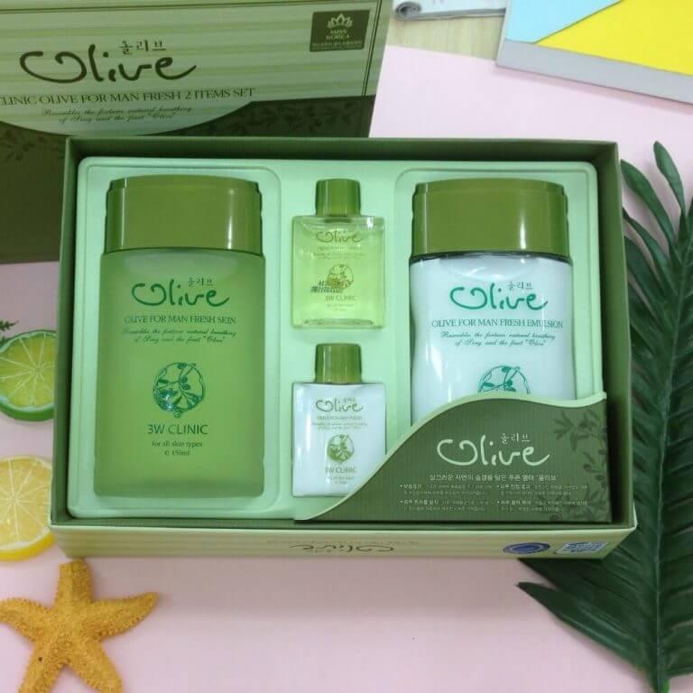 Tinh Chất Dầu Olive 3W CLINIC For Men Fresh