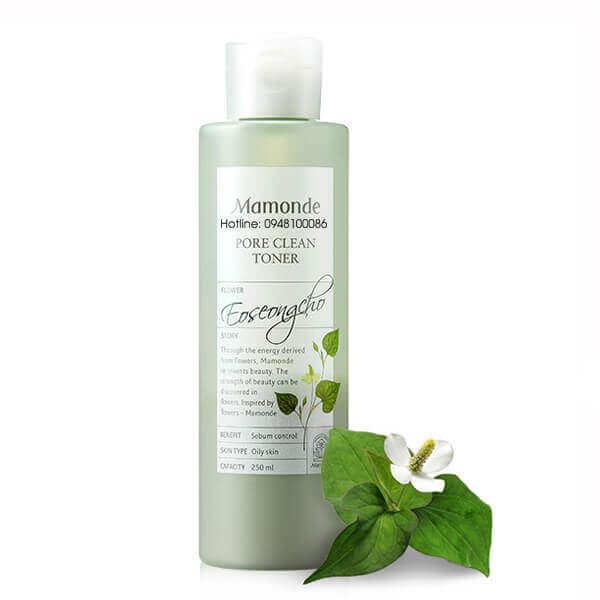 Sản phẩm của Diếp Cá Mamonde Pore Clean