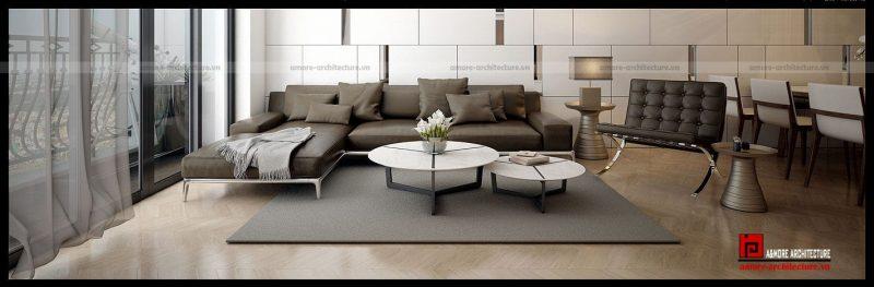 mẫu thiết kế nội thất nhà chung cư