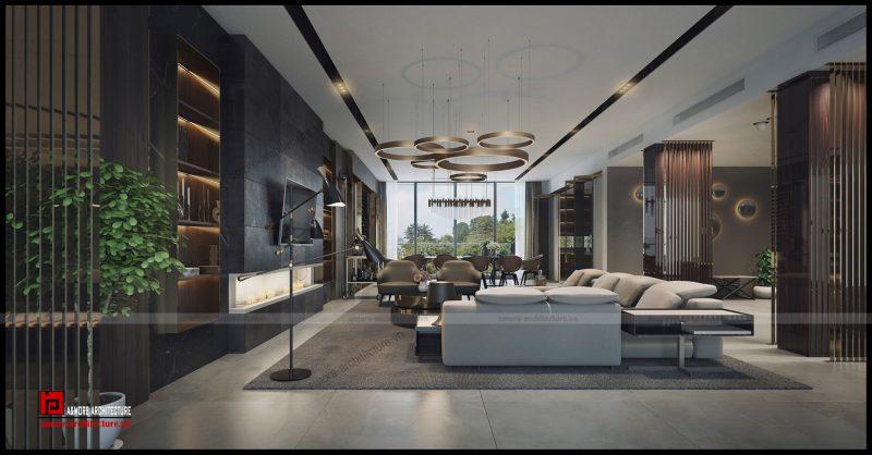 mẫu thiết kế nội thất nhà liền kề