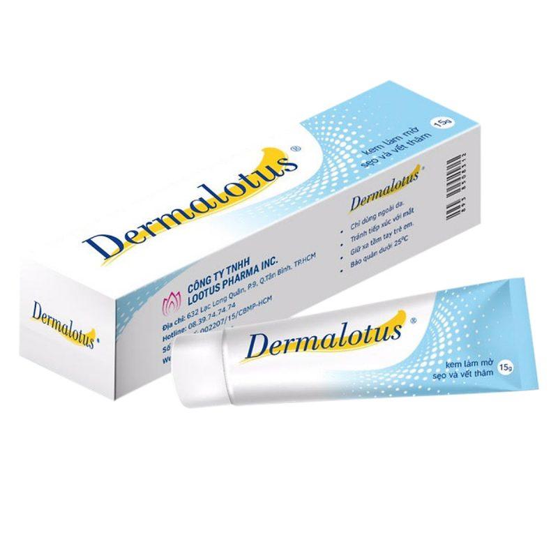 Kem trị sẹo thâm Dermalotus