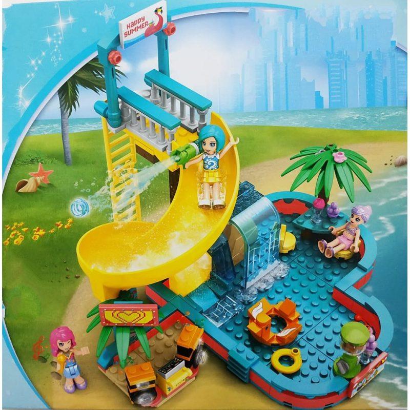 Đồ chơi lego lắp ghép công viên đồ chơi xếp hình cho trẻ