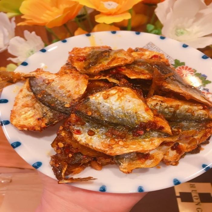 cá chỉ vàng rim cay Đà Nẵng
