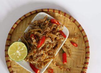 cá bống rim cay Đà Nẵng