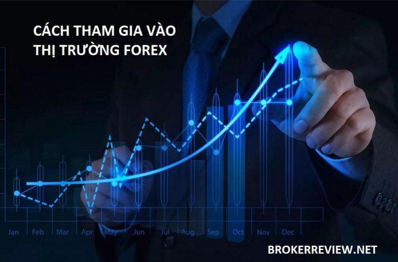 cách tham gia sàn Forex