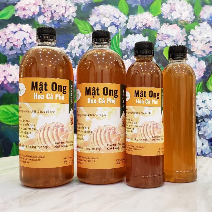 mua mật ong hoa cà phê chất lượng