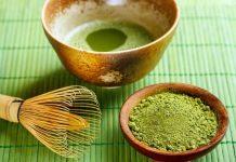 bột trà xanh dưỡng da làm đẹp