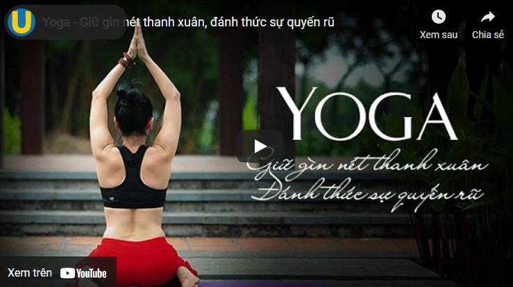 học yoga online