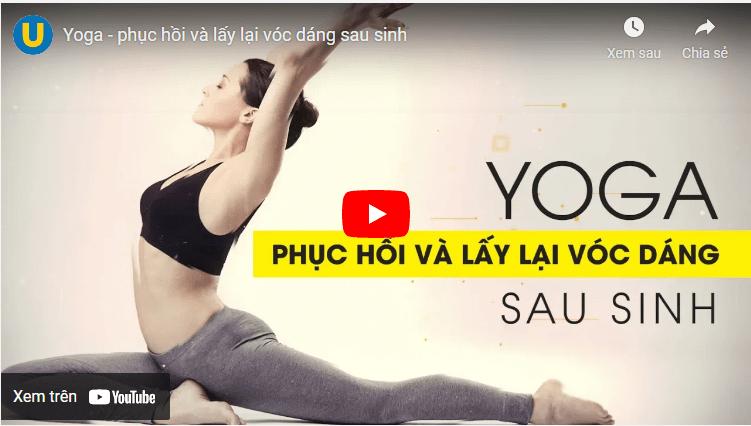 yoga giảm cân