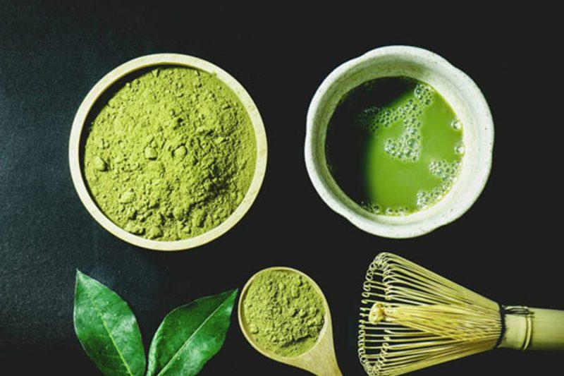 Mua bột trà xanh uy tín