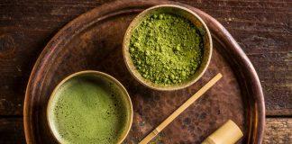 bột trà xanh làm gì